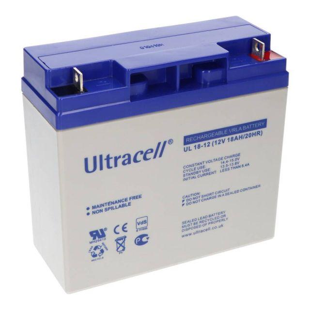 Ultracell UL18-12 VRLA Loodaccu 12V 18Ah