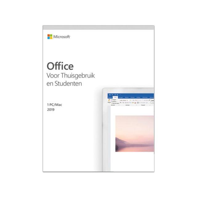 Microsoft Office 2019 Thuisgebruik & Student Windows + Mac