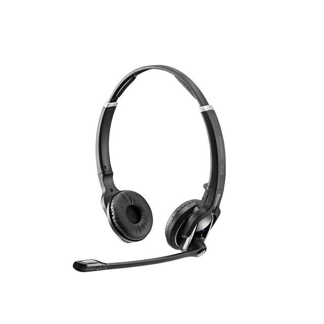EPOS | SENNHEISER IMPACT DW Pro 2 HS Headset Hoofdband Zwart