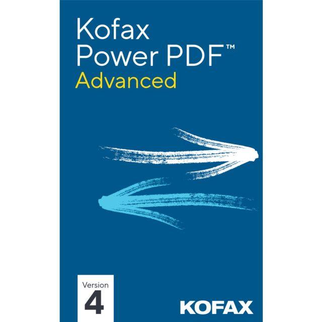 Kofax Power PDF Advanced 4.0 | 1PC | Windows