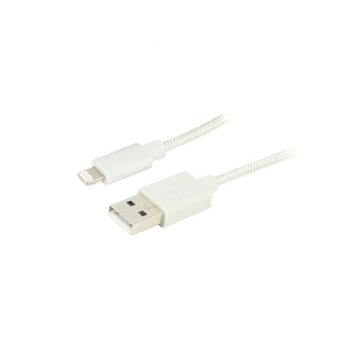 Ewent EW1278 Lightning-kabel 1 m Wit