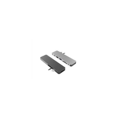 HYPER GN21D-GRAY interface hub Grijs