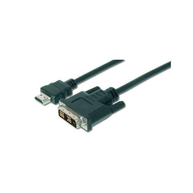 Digitus AK-330300-030-S video kabel adapter 3 m HDMI DVI-D Zwart