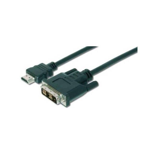 Digitus AK-330300-020-S video kabel adapter 2 m HDMI DVI-D Zwart