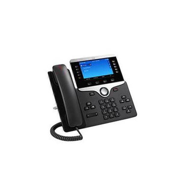 Cisco 8851 IP telefoon Zwart CP-8851-K9=