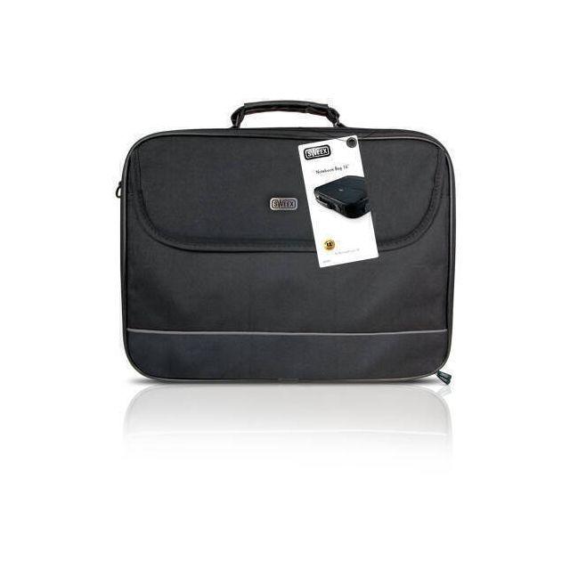 Sweex SA008 notebooktas 40,6 cm (16 inch) Aktetas Zwart