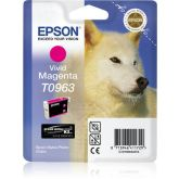 Epson Husky T0963 inktcartridge 1 stuk(s) Origineel Foto magenta