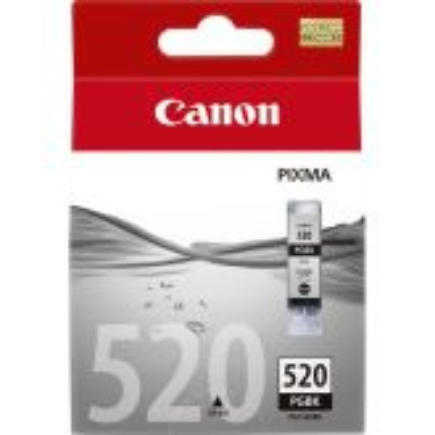 Canon PGI-520BK inktcartridge 1 stuk(s) Origineel Foto zwart
