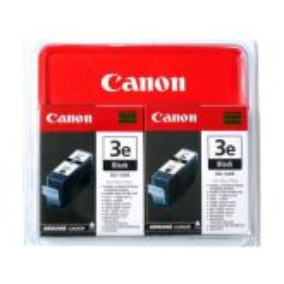 Canon BCI-3EBK, 2-pack inktcartridge 2 stuk(s) Origineel Zwart