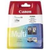 Canon PG-540 / CL-541 inktcartridge 2 stuk(s) Origineel Zwart, Cyaan, Magenta, Geel