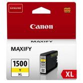 Canon PGI-1500XL Y inktcartridge 1 stuk(s) Origineel Geel