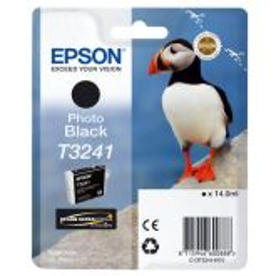 Epson T3241 inktcartridge 1 stuk(s) Origineel Foto zwart
