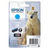 Epson Polar bear C13T26124012 inktcartridge 1 stuk(s) Origineel Normaal rendement Cyaan