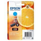 Epson Oranges C13T33424012 inktcartridge 1 stuk(s) Origineel Normaal rendement Cyaan