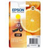 Epson Oranges C13T33444012 inktcartridge 1 stuk(s) Origineel Normaal rendement Geel