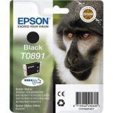 Epson Monkey T0891 inktcartridge 1 stuk(s) Origineel Zwart