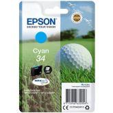 Epson Golf ball C13T34624010 inktcartridge 1 stuk(s) Origineel Normaal rendement Cyaan