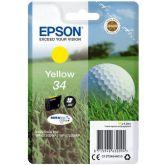 Epson Golf ball C13T34644010 inktcartridge 1 stuk(s) Origineel Normaal rendement Geel