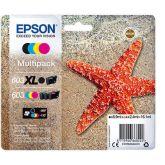 Epson 603 XL inktcartridge 1 stuk(s) Origineel Hoog (XL) rendement Zwart, Cyaan, Magenta, Geel