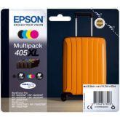 Epson 405XL DURABrite Ultra inktcartridge 4 stuk(s) Origineel Hoog (XL) rendement Zwart, Cyaan, Magenta, Geel