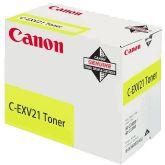 Canon C-EXV21 toner cartridge 1 stuk(s) Origineel Geel