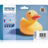Epson Duck T0556 inktcartridge 1 stuk(s) Origineel Zwart, Cyaan, Magenta, Geel