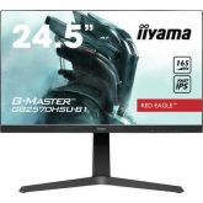 iiyama G-MASTER GB2570HSU-B1 PC-flat panel 62,2 cm (24.5 inch) 1920 x 1080 Pixels Full HD LED Zwart