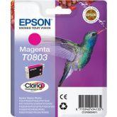 Epson Hummingbird T0803 inktcartridge 1 stuk(s) Origineel Magenta