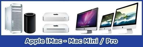 Herstellingen Apple Hardware Desktops iMac Mac